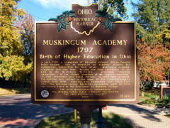 13-84 Muskingum Academy, 1797 - Birth of Higher Education in Ohio (Side A)