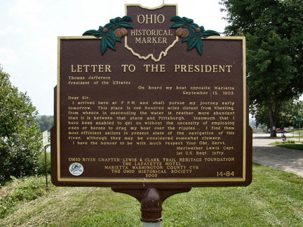 14-84 Letter to the President