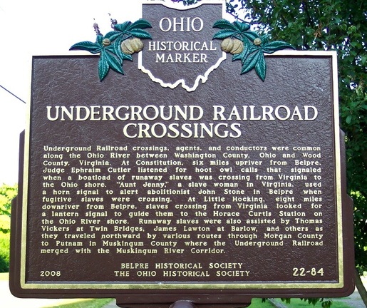 22-84 Underground Railroad Crossings (Side A)