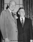 7-84 C. William O'Neill and Dwight D. Eisenhower