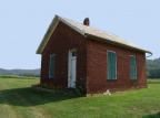 8-84 Round Bottom Schoolhouse