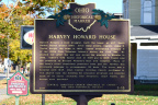 5-85 Harvey Howard House - Marker Front