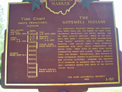 1-86 Hopewell Indians Marker