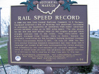 4-86 Rail Speed Record