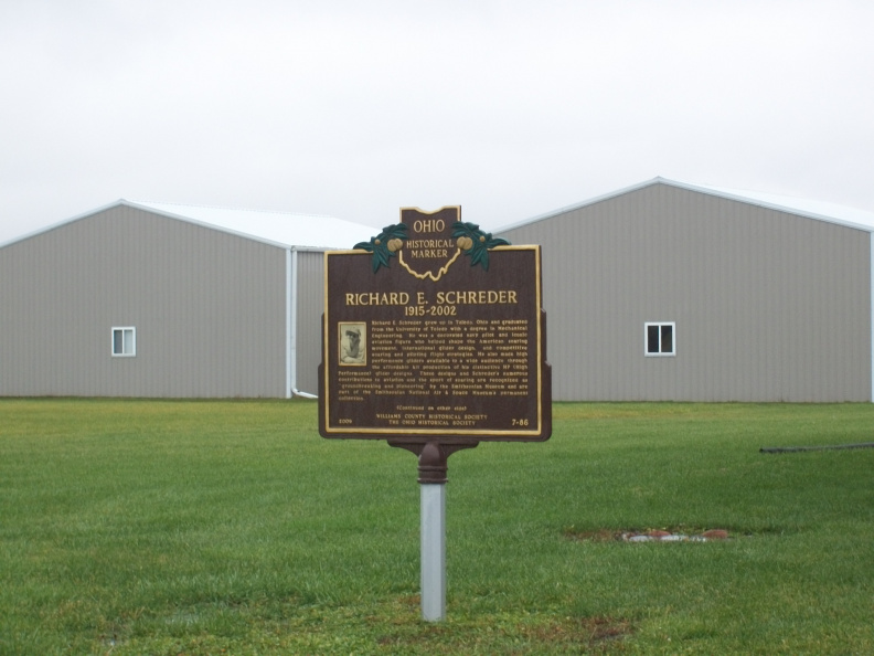 7-86 Located in front of the Williams County Airport on County Road D.