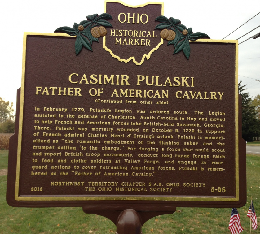 8-86 Back of Marker