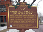 12-87 Pemberville Town Hall and Opera House