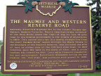 13-87 The Maumee and Western Reserve Road Marker