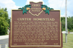 19-87 Custer Homestead Historic Marker
