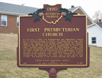 9-87 First Presbyterian Church