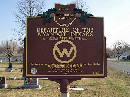 2-88 Departure of the Wyandot Indians (Side B)