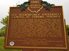 Old Wilberforce University Campus at Tawawa Springs