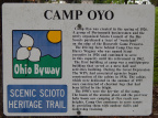 Camp Oyo Information Sign