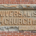 Universalist Church Information Block