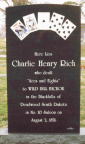 Charley Rich Grave Marker