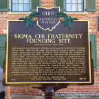 40-9 Sigma Chi Fraternity Founding Site