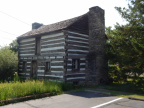 Galloway Log House rear