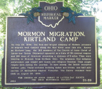 25-29 Mormon Migration, Kirtland Camp / Facts About Kirtland Camp