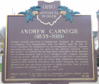 10-41 Andrew Carnegie (1835-1919) / Carnegie Library of Steubenville