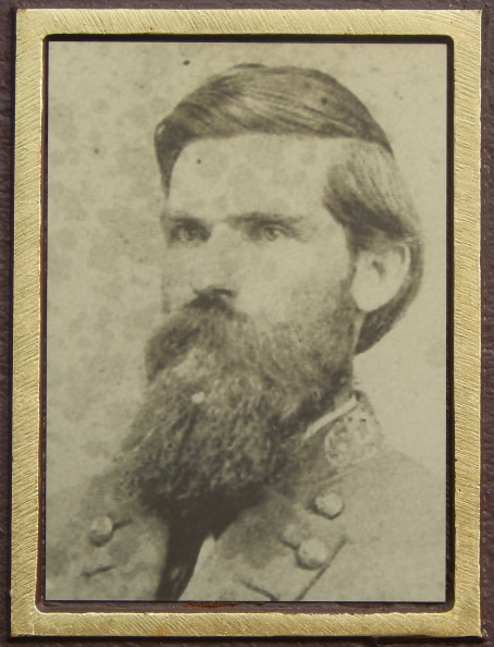 Marker 10-42 photo insert of Confederate General Daniel Harris Reynolds