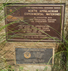 Another set of plaques nearby