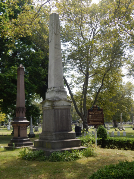 123rd Ohio Volunteer Infantry Monument and marker.JPG