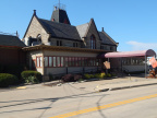 Berea Union Depot and marker