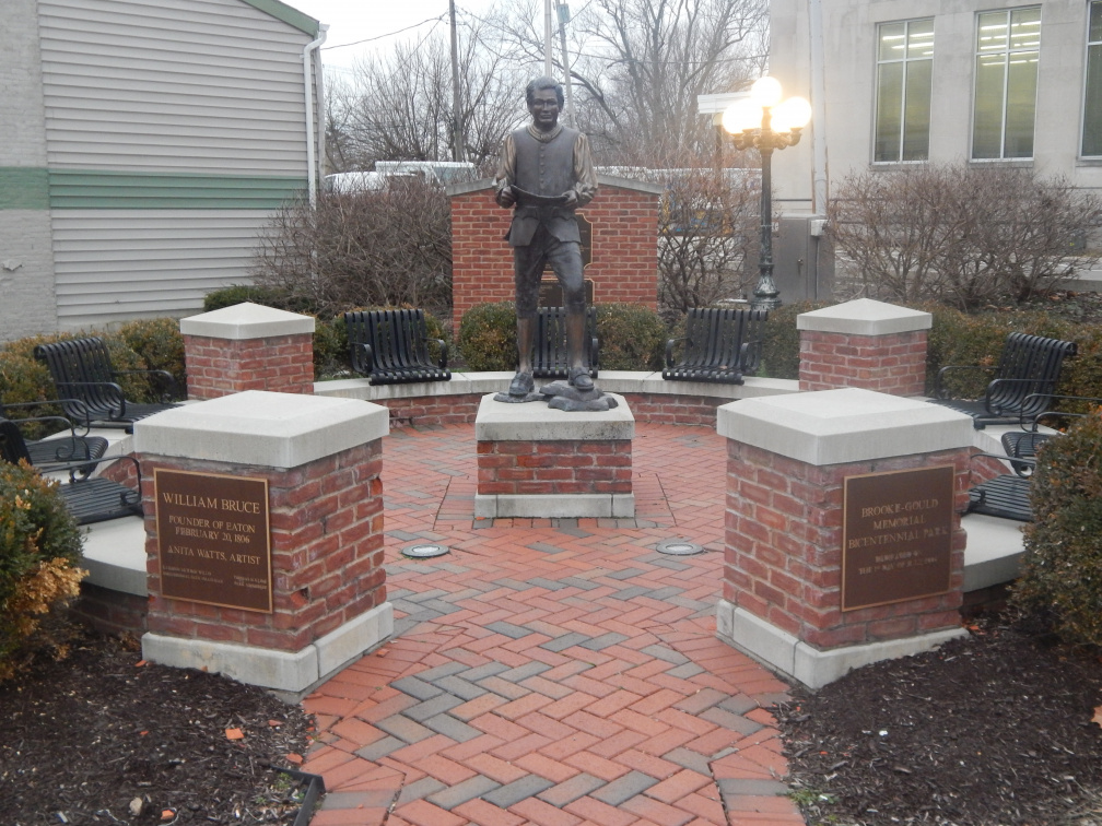Statue of William Bruce in Eaton