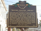 12-13 Founding of Milford Public Library /