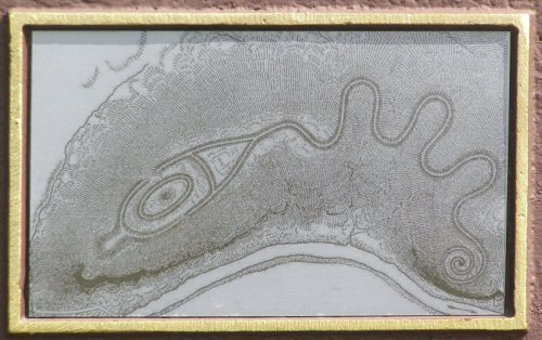 15-1 map of the mound as included on marker