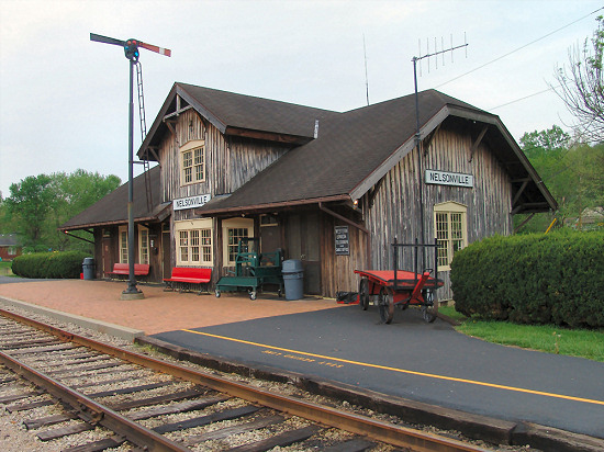 1-5 Hocking Valley Scenic Railway Depot, Nelsonville