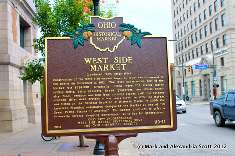 110-18 West Side Market Marker 1