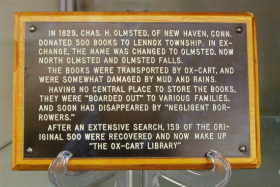 12-18 The Ox Cart Library History