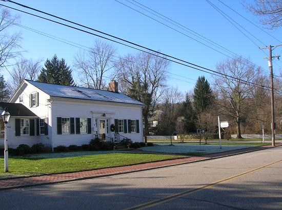 25-18 #4- Southwick House- 1834- Home of the Historical Society