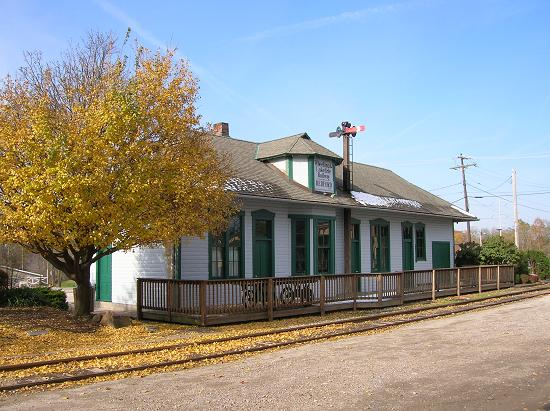 84-18 #4- The Train Depot