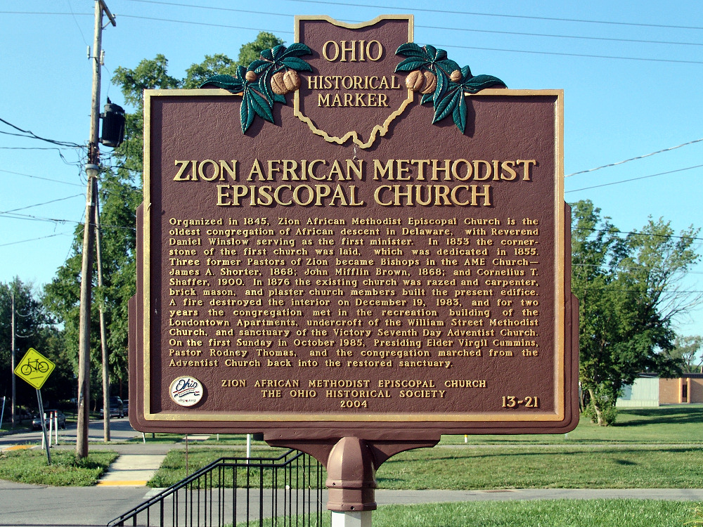 13-21 Zion African Methodist Episcopal Church