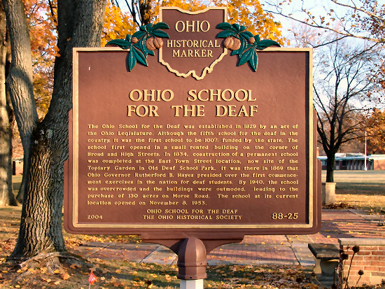 88-25 Ohio School for the Deaf