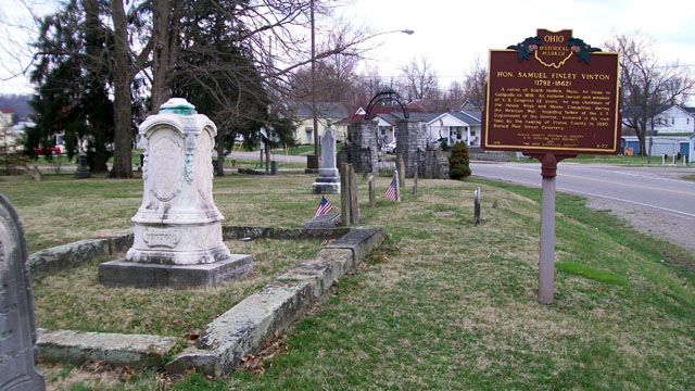 4-27 Vinton Marker and Gravesite