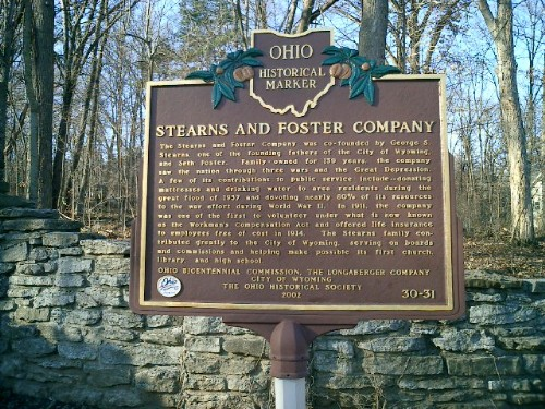 30-31 Stearns Marker front closeup - Williams photo