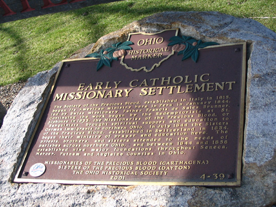 4-39 Early Catholic Missionary Settlement Marker