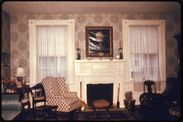 4-43 Matthews House; Parlor; Lake County
