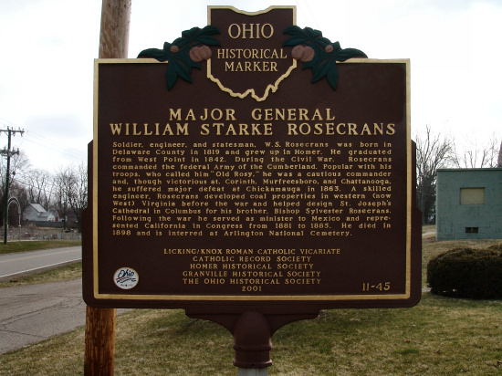 11-45 Major General William Starke Rosecrans
