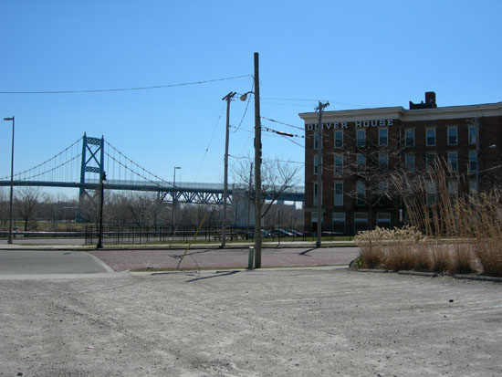 8-48 Oliver House with Hi-Level Bridge in background