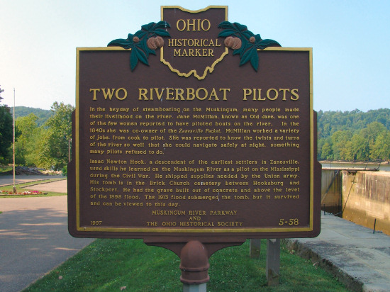 5-58 Two Riverboat Pilots