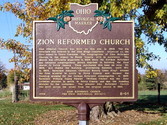 8-64 Zion Reformed Church