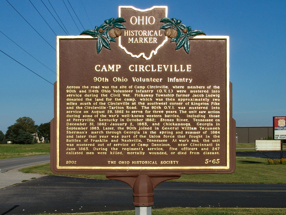 5-65 Camp Circleville-90th Ohio Volunteer Infantry (Side A)