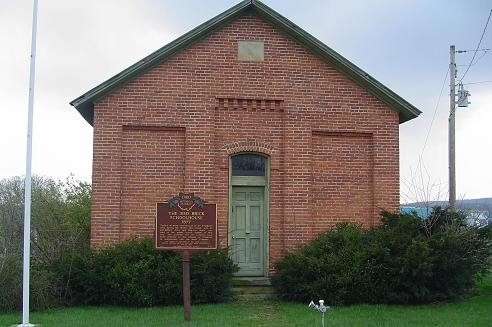 1-71 Schoolhouse & Marker
