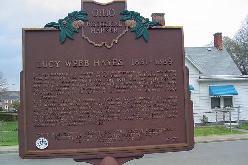 6-71 Lucy Hayes Marker
