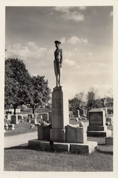 3-72 Monument in McPherson Cemetery