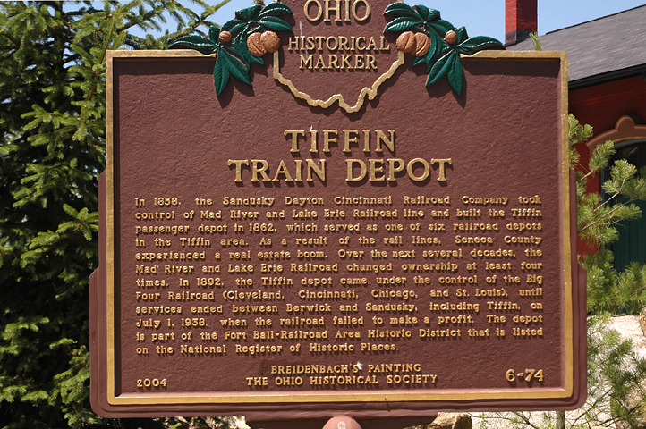 6-74 Tiffin Depot Marker